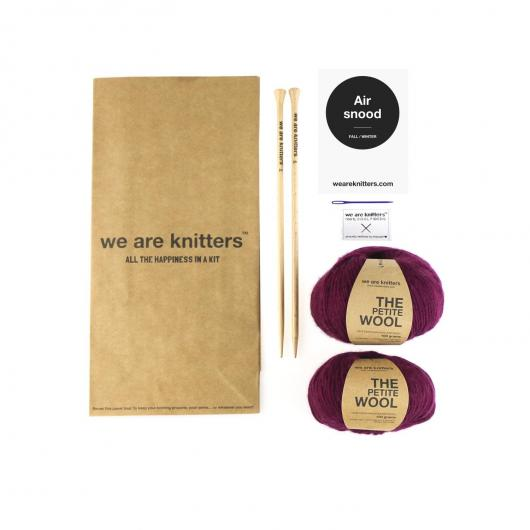 Sciarpa Air Snood We Are Knitters, vino