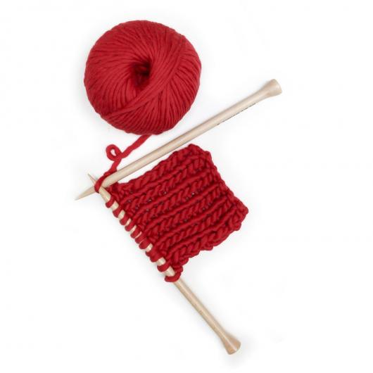 Sciarpa Air Snood We Are Knitters, rosso