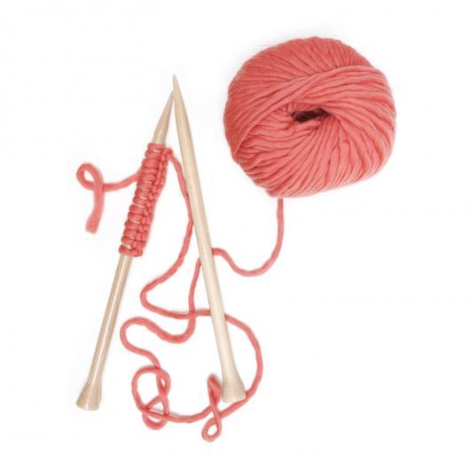 Manta Nick Blanket We Are Knitters, rosa