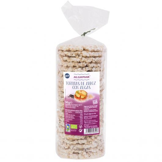 Gallette di riso con alghe Bio Algamar 120 g