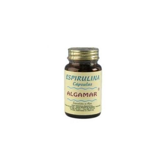 Espirulina en cápsulas Algamar, 60 cápsulas