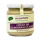 Crema de Almendra cruda con algas Algamar 320 g