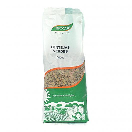 Lentilles vertes BIOCOP, 500 g