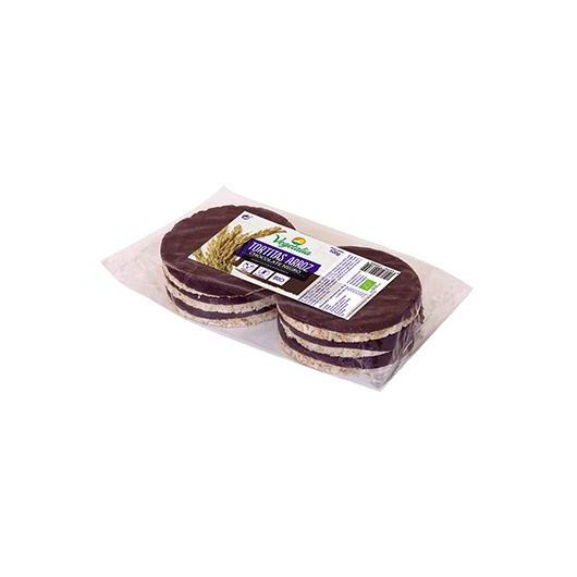 Tortitas de Arroz con Chocolate Negro Vegetalia 100gr