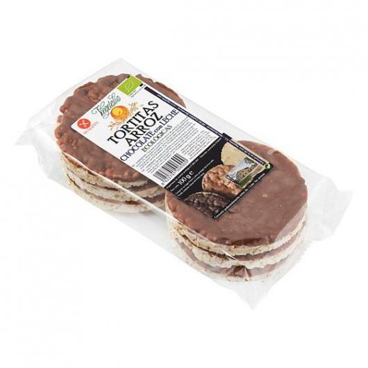 Tortitas de Arroz Chocolate con Leche Vegetalia 100 gr