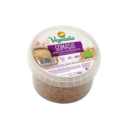Gomasio Sal del Himalaya y Lino Dorado Vegetalia 120 gr