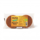 Wafels Manzana y Pera Biocop, 175 g
