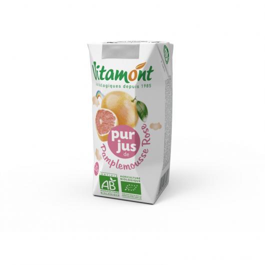 Succo di Pompelmo Rosa Vitamont, 6 x 200 ml