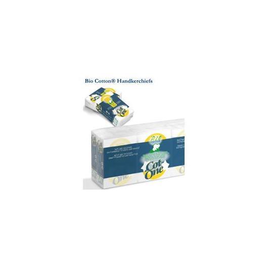 Pañuelos de algodón Biodegradables Cot One 6 uds