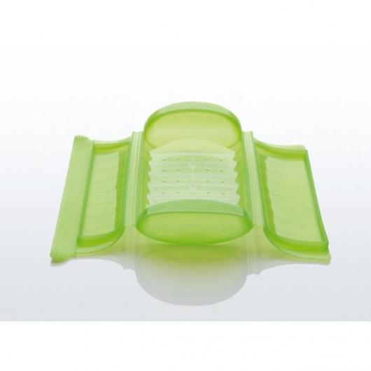 Coffret papillote Lékué verte avec filtre blanc 1- 2 personnes, Vert