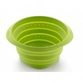 Colador plegable 23 cm Lékué, verde