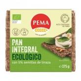 Pão de centeio 5%  sementes de linhaça PEMA, 375 g