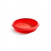 Molde redondo 24 cm Lékué, rojo