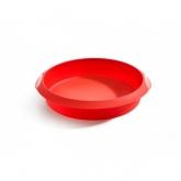 Molde redondo 26 cm Lékué, rojo