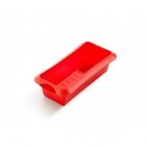 Moule rectangulaire 24 cm Lékué, Rouge