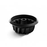 Moule à Kouglof / Savarin profond 22 cm Lékué, Noir