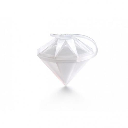 Ice block diamante 2 unitá Lékué, blanco