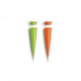 Moule à glace 2 unités Lékué, Vert et Orange