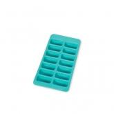 Bandeja para hielo gourmet rectangular Lékué, azul