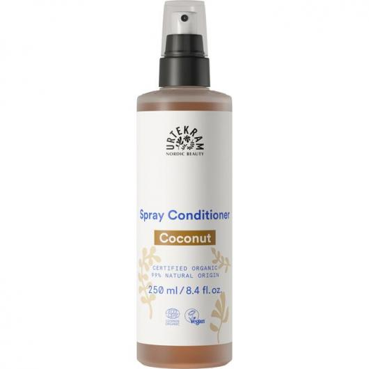 Acondicionador en spray de Coco cabellos normal Urtekram, 250 ml