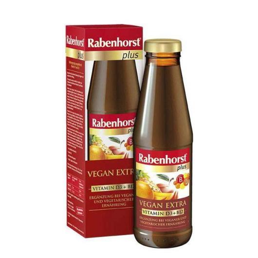 Bebida Vegan Extra Vitamina D3 B12 Rabenhorst, 450ml