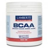 BCAA forma livre Lamberts, 180 cápsulas