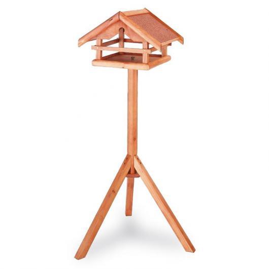 Mangiatoia di legno uccelli