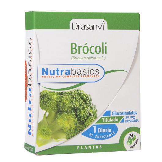 Brocoli Nutrabasics Drasanvi, 24 capsules