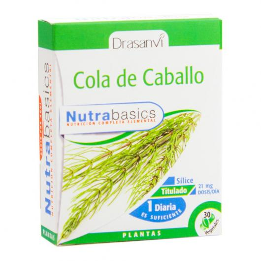 Cola Caballo Nutrabasicos Drasanvi 30 cápsulas