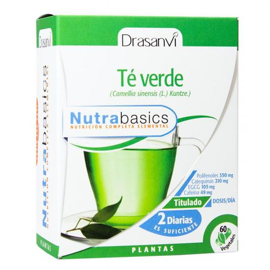 Thé vert Nutrabasics Drasanvi, 60 capsules