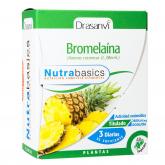 Bromelaína Nutrabasicos Drasanvi 48 cápsulas