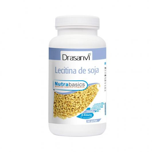 Lecitina Soja 540 mg Nutrabasicos Drasanvi 90 perlas