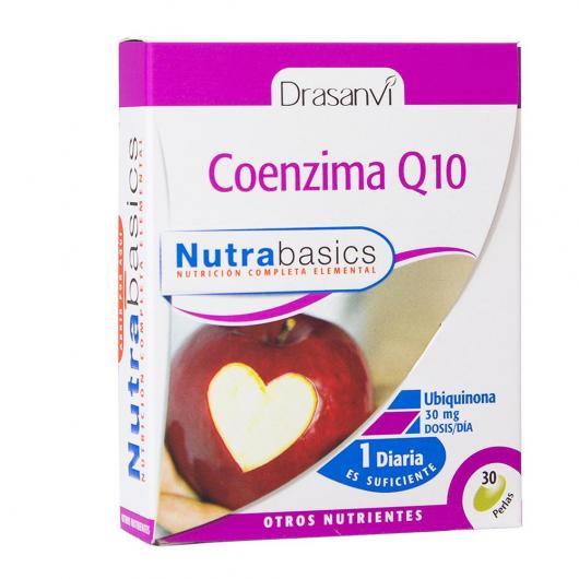 Coenzima Q10 30 mg Nutrabasics Drasanvi