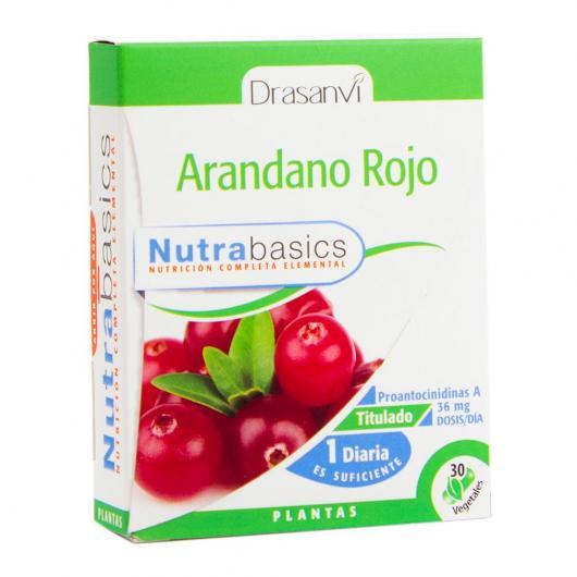 Canneberge (Cranberry) Nutrabasics Drasanvi, 30 capsules