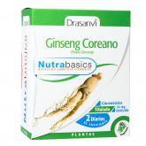 Ginseng Coreano Nutrabasics Drasanvi 60 capsule