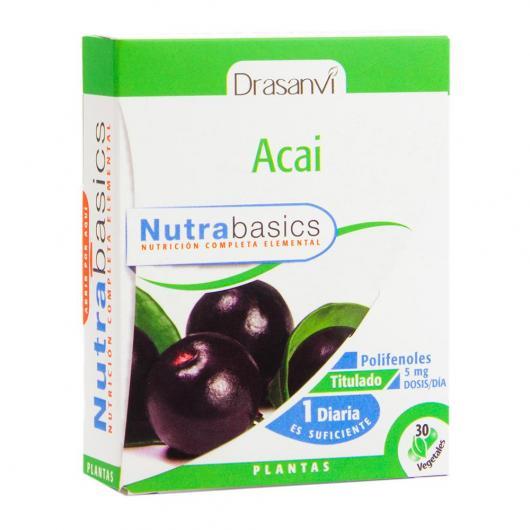 Acaï Nutrabasics Drasanvi, 30 capsules