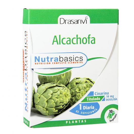 Artichaut Nutrabasics Drasanvi, 30 capsules