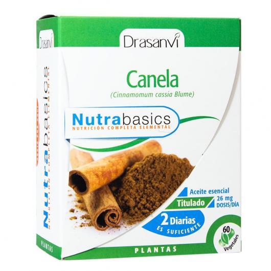 Cannelle Nutrabasics Drasanvi, 60 capsules