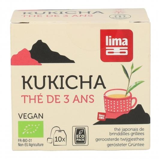 Thé Kukicha Lima, 10 sachets