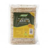 Torradas de arroz Biocop, 130 gr