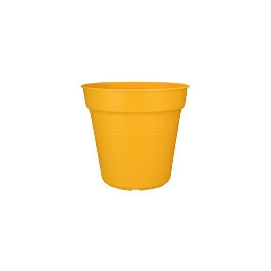 Pot de fleurs Greens Basics jaune vif