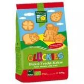 Glückies Biscuits pour enfants à l'épeautre et aux fruits Bohlsener Muehle, 150 g