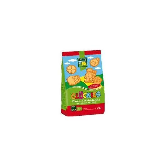 Glückies galletas infantiles de espelta y frutas Bohlsener Muehle, 150 g