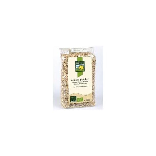Flocons 4 céréales Bohlsener Muehle, 500 g