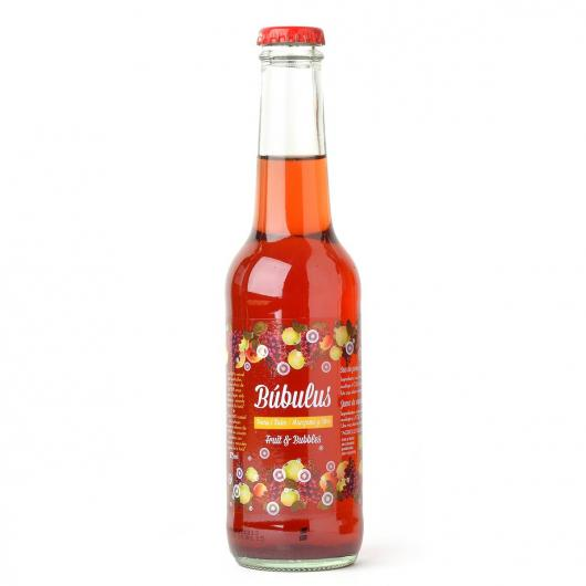 Succo di mela e uva frizzante Búbulus ECO Cal Valls, 275 ml