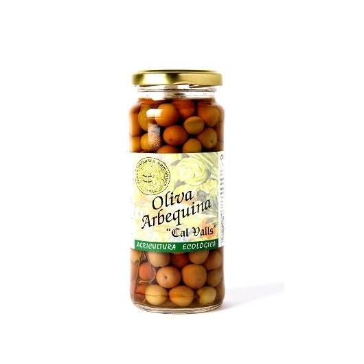 Olive Arbequina Eco Cal Valls, 240 g