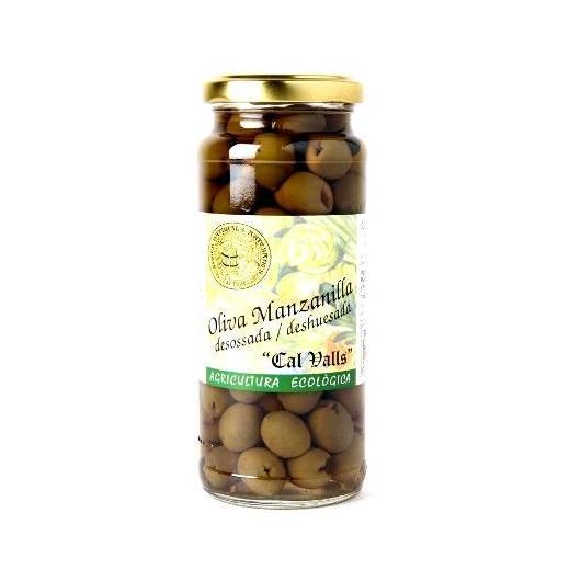 Aceitunas manzanilla sin hueso ECO Cal Valls, 170 g