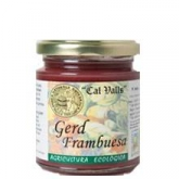 Mermelada frambuesa ECO Cal Valls, 240 g