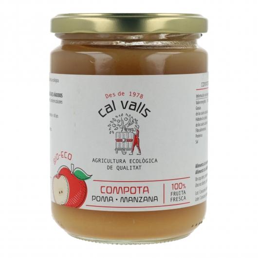Compote de pomme BIO Cal Valls, 400 g