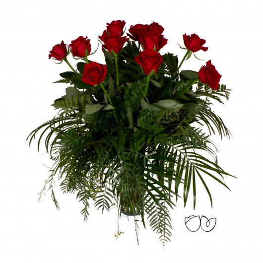 Ramo de flores Por tu amor